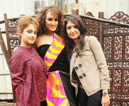 Riddhi Tolia, Arshina Trivedi and Aliya Khan