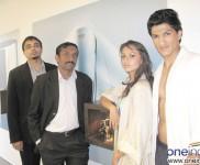 Mr. Bijoy Mohan, Mr. Mathew Job and Models