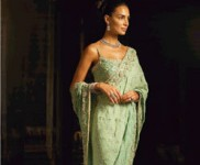 Oceanic Green Saree