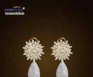 Detachable Diamond Earrings