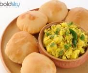 Healthy Matar Puri Recipe