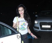 Shilpa Shetty And Amisha Patel Snapped At Hakkasan Bandra