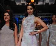 LFW Day 3 - Shraddha Kapoor Walks For Namrata Joshipura
