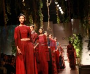 Designer Anita Dongre Collection Grassroot At AIFW 2016
