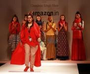 Designer Chandrani Siingh Fllora At AIFW 2016