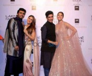 Red carpet Of Manish Malhotra's Show At The Lakme Fashion Week 2016