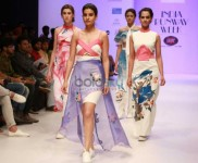 Designer Snidhi And Ishna At India Runway Week 2016