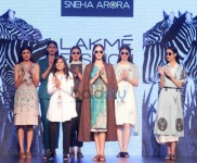 Show Design By Sneha Arora At LFW Day 1