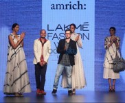 Show Design By Amrich At LFW Day 2