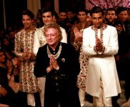 Designer Rohit Bal Grand Finale At ICW 2016