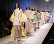 Designer Amit Aggarwal Collection At AIFW Spring Summer 2017
