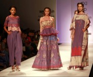 Designer Poonam Dubey Collection At AIFW Spring Summer 2017