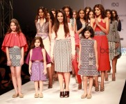 Designer Tanieya Khanuja Collection At AIFW Spring Summer 2017