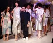 Pankaj And Nidhi Collection At AIFW Spring Summer 2017