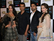 Bollywood Celebrities at Lakme Fashion Week 2012 Photos