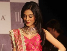 Amrita Rao walks the ramp at  IIJW 2012 Day 02 Photos