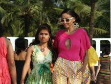 Designer of Rachana Sansad Models Walked On The Ramp Photos