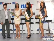 C.S. Shekhar, President, Retail Operations, Max & Femina Miss India winners Photos