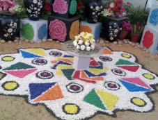 Rangoli Designs Pongal Decorations Photos