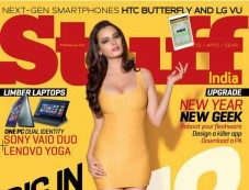 Evelyn Sharma's Stuff Magazine Covershoot Photos