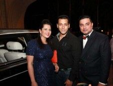 Salman Khan at Splash Fashion Show in Dubai Photos