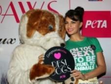 Jacqueline Fernandez Promotes PETA New Photos