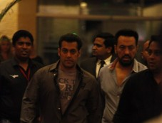Salman Khan at  CCL Glam Night Photos