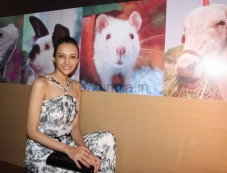 Dipannita Sharma PETA promotes Extra-Vegan-Za at Indian Luxury Expo Photos