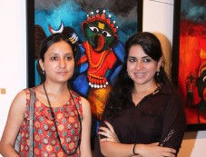Inauguration of Deeksha Mishra's Art Exhibition Photos