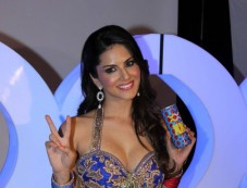 Sunny Leone Endorsing Sachiin Joshi's Energy Drink Photos