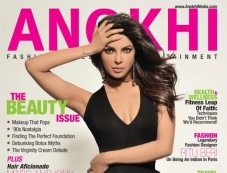 Priyanka Chopra on the cover of Anokhi - Spring 2013 Photos