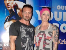 Author Kris Gethin With His Wife Marika Gethin Photos