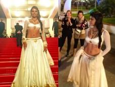 Sherlyn Chopra Goes Desi At Cannes 2013 Photos