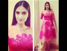 Sonam In Elie Saab Photos