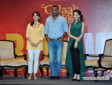 Juhi Chawla, Anubhav Sinha and Madhuri Dixit at Launch of Believe campaign to celebrate the Triumphs Photos