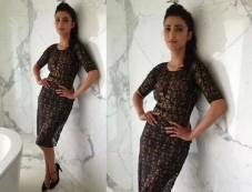 Shruti Haasan In Sheer Arpan Vohra Dress Photos