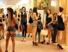 Audition of Lakme Fashion Week WinterFestive 2013 Photos