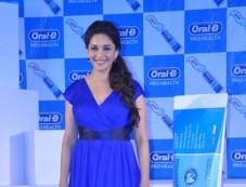 Madhuri Dixit launches Oral-B Pro Health toothpaste Photos