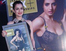 Ameesha Patel unveils the special issue cover of Maxim magazine August 2013 Photos