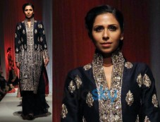 Midnight Blue Gharara Photos