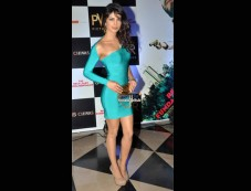 Priyanka's Blue Body Con Photos