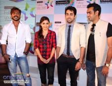 Terrence Lewis, Soha Ali Khan, Ayushmann Khurrana and Ravinder Singh Photos