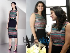 Kajol surprised in Prabal Gurung outfit Photos