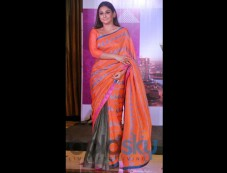 Vidya Balan Looks Dreadful In Anupamaa Saree Photos