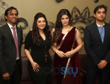 Zarine Khan at the Announcement of India Wedding Lounge Photos