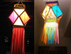 Diwali Decoration Ideas In Budget Kandils Photos