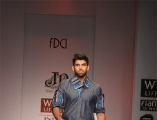 Niket & Jainee at WIFW ramp walk Photos
