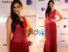 Sonam kapoor in Alaia Dress  At The Le Mill - FarFetch Do Photos