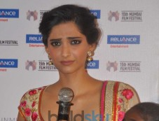 Sonam Kapoor at Khalid Mohammad's documentary Screening Photos
