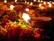 Why Do Hindus Light Lamps During Diwali Photos